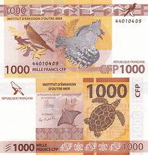 FRANCE PACIFIQUE 1000 Francs UNC CFP POLYNESIE TAHITI NVL CALEDONIE Outre Mer