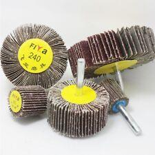 20~80mm Sanding Flap Grind Wheel Disc 6mm Shank 60~320Grit Abrasive Rotary Drill