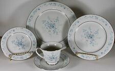 Noritake Carolyn 2693 5pc Set - Fine China, Cup, Saucer, Plate Set