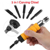 Wood Chisel Tool Chuck Hand Carving Machine For Electric Drill Flexible Shaft
