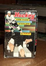 1990-91 Panini Hockey Sticker Box ^ 100 packs per box