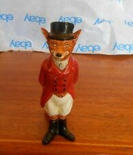 Royal Doulton Fox Figurine . D64483 . D6448 . Huntsman