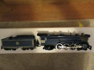 MTH 30-1172-1 CNJ 4-6-2 Blue Comet Pacific Steam Engine w/PS-2   New