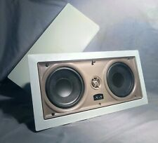 PROFICIENT IW550 5 1/4 Surround Sound Speakers In Wall, W/ Pivoting Dome Tweeter