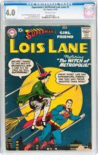Superman's Girlfriend Lois Lane #1 CGC 4.0 DC 1958 D12 915 cm