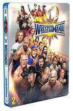 WWE WrestleMania 33 [Blu-ray Steelbook] + Hall of Fame 2017 *NEU* WM XXXIII
