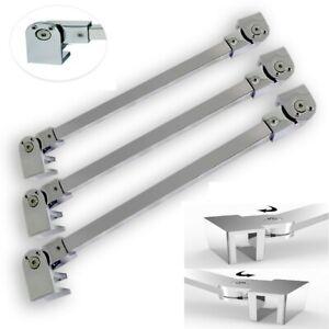Bügel Glaswand Halter Wandhalter Stabilisator Duschwand Edelstahl Verstellbar
