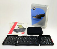 Fold-up Foldable Portable Keyboard for Palm V Series PDA - With Box and Case