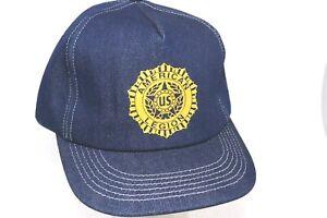 Vintage K Products Denim Foam American Legion Baseball Cap Deadstock Snapback
