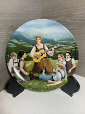 """1986 Knowles Collector Plate """"Do-Re-Mi"""" Sound of Music Crnkovich"""