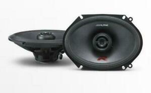 """ALPINE R-S68 6""""x8"""" Coaxial 2-Way Speakers AU WARRANTY"""