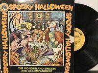 The Wonderland Singers – Spooky Halloween LP 1974 Golden Records – LP-293 VG/VG