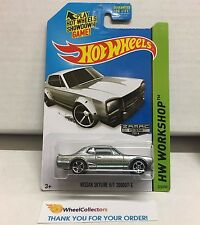 Nissan Skyline H/T 2000GT-X #225 * Zamac * 2014 Hot Wheels * L11