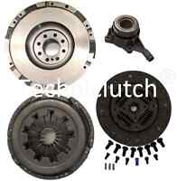 FOR FORD TRANSIT TDCI MK7 2.4 6 SPEED FLYWHEEL AND CLUTCH KIT & CSC WITH BOLTS