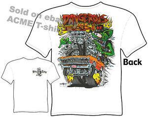 Dangerous Ratfink T Shirt 67 Chevelle Tshirt 1967 Chevy Tee Big Daddy Muscle Car