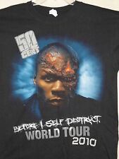 NEW - FIFTY / 50 CENT CURTIS JACKSON III BAND / CONCERT / MUSIC T-SHIRT LARGE