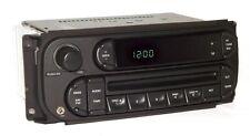 05 Chrysler PT Cruiser Car Radio AM FM CD Player Aux Input RBK Digital Controls