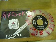 "PINK CHUNK""LOUIE LOUIE-disco 45 giri MONSTER WAX-PICTURE/PUNK-VERY RARE"""