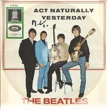 "7""-Vinyl-Single The BEATLES ""Act Naturally"" / ""Yesterday"""