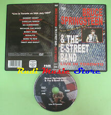 DVD BRUCE SPRINGSTEEN & THE E-STREET BAND Live in toronto FNM 0310 no vhs(DM2)