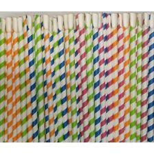 More details for spoon straw, slush, milkshake, smoothie spoon straws 8x200mm,paper,spoon straw,s