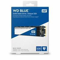 500GB Western Digital WD Blue 3D NAND SATA III SSD interne Festplatte M.2 2280