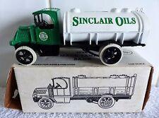 SCARCE-ERTL #2119-SINCLAIR OILS-1926 MACK TRUCK TANKER BANK-LTD EDITION-BOXED.