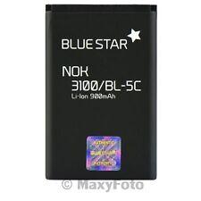 BATTERIA ORIGINALE BLUE STAR 900mAh LITIO PER NOKIA 3100 3109 3110 3120 3650 N70