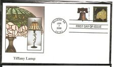 US SC # 3758a Tiffany Lamp FDC. Fleetwood Cachet