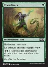 MTG Magic M15 FOIL - (2x) Vineweft/Tramelianes, French/VF