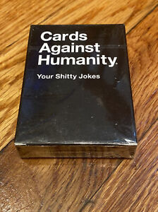 Cards Against Humanity Your Sh*tty Jokes Pack Expansion Set Combined Shipping