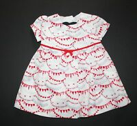 New Gymboree Bunting Love Print Dress Size 6-12 Months NWT Fun at Heart Line