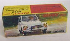 REPRO BOX DINKY n. 1413 CITROEN DYANE colorato