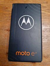 Motorola Moto e7 Mobile Smart Phone 32 Mineral grau auf Brandneu Versiegelt