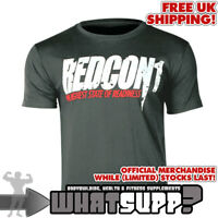 REDCON1 Highest State Of Readiness OFFICIAL T-SHIRT White/Grey Bodybuilding XXL