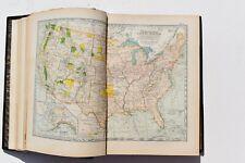 THE CENTURY ATLAS OF THE WORLD BY Benjamin E. Smith 1897