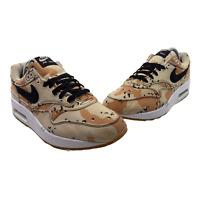 Nike Air Max 1 Premium Mens Size 9 Desert Camo Beige Brown 875844-204 Sneakers