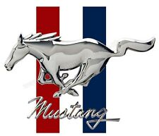 "FORD MUSTANG DIGITALLY CUTOUT VINYL STICKER. 4"" X 3"" SIZE"