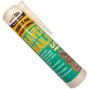 Saves Nails SOLVENT FREE Bondit Instant Grab Adhesive Fix-It Mate Tube