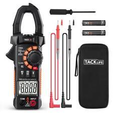 Meterk Tester Dc Voltage Rms Amp True Test Clamp Digital Meter Ac Multimeter New