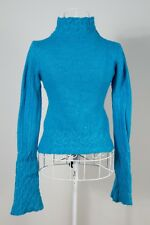 """Size S/M """"Sunny Girl"""" Gorgeous Ladies Blue Top. Great Condition. Bargain Price!"""