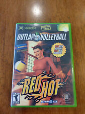 Outlaw Volleyball: Red Hot (Microsoft Xbox, 2003) GOOD COMPLETE! MAIL TOMOR