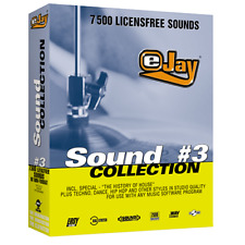 🥇 eJay Sound Collection 3, 7500 WAV sounds, samples and Loop, DAW, Create Music