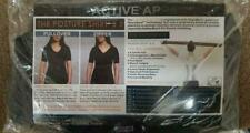 Women AlignMed Posture Correcting Shirt 2.0 Neuroband Technology Black XXL 2XL
