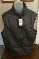 IZOD Advantage Performance Asphalt(Gray) Vest Asst Sizes NWT