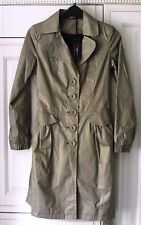 GOLD MAC / COAT - NEW LOOK SIZE - 10 - BRAND NEW WITH TAGS