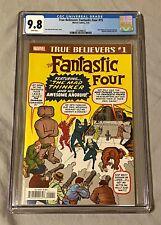 True Believers: Fantastic Four #15 CGC 9.8 Marvel Comics / The Mad Thinker  2/19