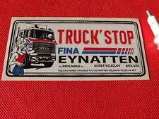 Truck Stop Belgique autocollant grand