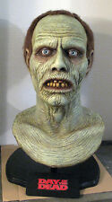 Bub Day of The Dead Zombie bust 1:1 scale head prop walking dawn night no mask