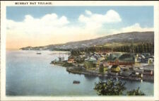 Murray Bay Village Quebec c1920 Postcard #1